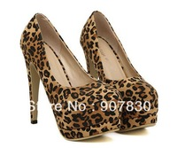 Free shipping European Sexy platfrom spuer stiletto high heel pumps