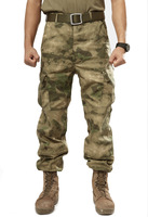 US army A-TACS camouflage pants upgraded quality combat field camouflage military CS paintball pants free shipping
