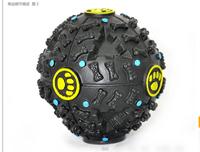 Pet Vocalization Anti-depression Leakage food ball for dog toy