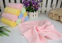 Bamboo fiber baby towels, bibs & Saliva,Kindergarten children handkerchief  30*30cm 40pcs/lot MIX COLOR, FREE SHIPPING TO RUSSIA