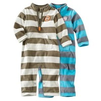 New 2014 Hot Striped Covered Button Full Carters Micro Fleece Baby Boys Romper Long Sleeve Jumpsuit Infant And Toddlers Overalls
