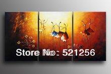 O envio gratuito de alta qualidade do grupo Modern pinturas abstratas de bailarinos BLA130(China (Mainland))