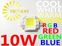 10PCS/LOT 10W 800-900LM LED Bulb IC SMD Lamp Light Daylight white warm white RGB Red Green Blue High Power LED