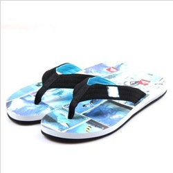 Free shipping 2013 male summer flip-flop sandals flip flops shoes flat sandals slippers(China (Mainland))