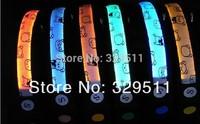 Wholesale Free shipping 100 pcs/lot glowing Nylon Webbing  LED dog collar, LED pet collar,Flashing dog collar 6 colors