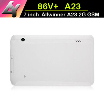New 86V+ 7 inch A23 GSM Phone call tablet Allwinner A23 Dual Core 512MB/4GB+Dual camera+Android 4.4 MID A701