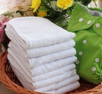 factory 2 layer microfiber Baby Cloth Diaper Nappy Liner Insert Reuseable all in 1