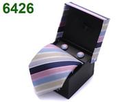 New Model Silk Ties Men's Business Dress Tie Fashion Necktie Set Brand Wedding Bow Tie with Gift Box Free Shipping