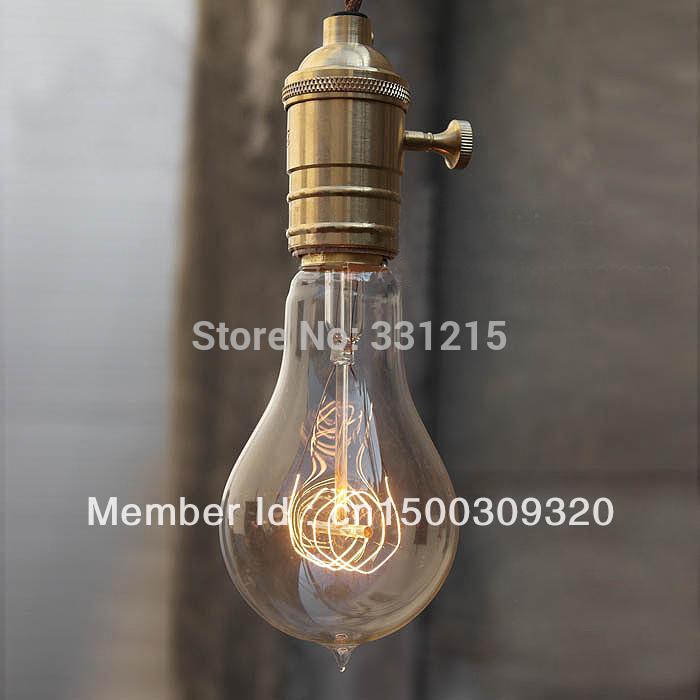 buy 1910 antique vintage edison light. Black Bedroom Furniture Sets. Home Design Ideas