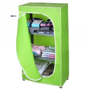 1PC ON SALE! 3 Colors (Pink, Light Yellow, Beige) Plastic DIY Wardrobe for Clothing and Shoes