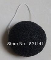 100% Natural Konjac Facial Sponge Facial Wash Cleaning Puff  whitten bubble sponge 10*6.5*3.0cm active carbon