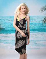 2013 New Saress Bikini Wrap Dress Women's Sarong Swim cover-ups Cross Beach dress  Feather