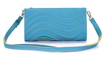 Retail (mixed order) All-match candy wave women's handbag day clutch cross-body small wallet shoulder bag