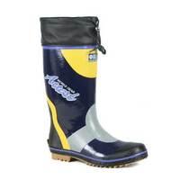 Men's High Rain Boots New Arrival Spring Water Shoes Rain Shoes Rubber Botas For Man Plus Size 43 44 45 46