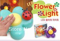 Free shipping 3pcs/lot wholesale plum LED lamp, LED night light, touch clap lights, festive decorations lights