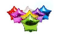 Free shipping 50pcs/lot 18inches Star foil balloon party decoration balloon wedding balloon