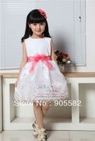 Free Shipping 3pcs/lot Wholesale 2013 New Design Fashion Girl Princess Dress
