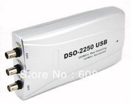 Hantek DSO2250 DSO-2250 USB2.0 PC based Oscilloscope 100MHz 250MS/s 2 Channels Digital Oscilloscope