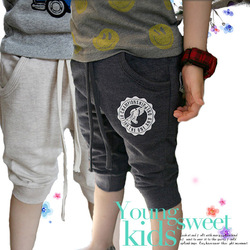Free Shipping, 2013 New Arrival, Children Summer Spring Letters Casual Pants,Boys Shorts,Kids' Clothing,TKY010(China (Mainland))