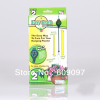 Free shipping Easy Reach Plant Pulley As Seen On TV Plant Hanger 60packs(1set=2pcs)