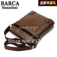 Free Shipping 2014 New Leather BAG Women Unisex Men's Messenger Bags Fashion Casual Business Shoulder Handbags for man BAG Sale