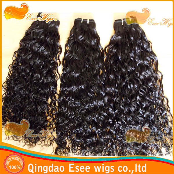 Esee wigs top Grade AAAAA 8inch-32inch pretty curly mongolian virgin hair weft 1b color 100g/pc fast shipping(China (Mainland))