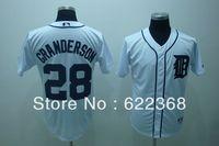 Cheap Mlb baseball uniform 28 mlb tigers granderson white jersey