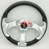 10pcs Racing steering wheel 13inch PU  for universal car