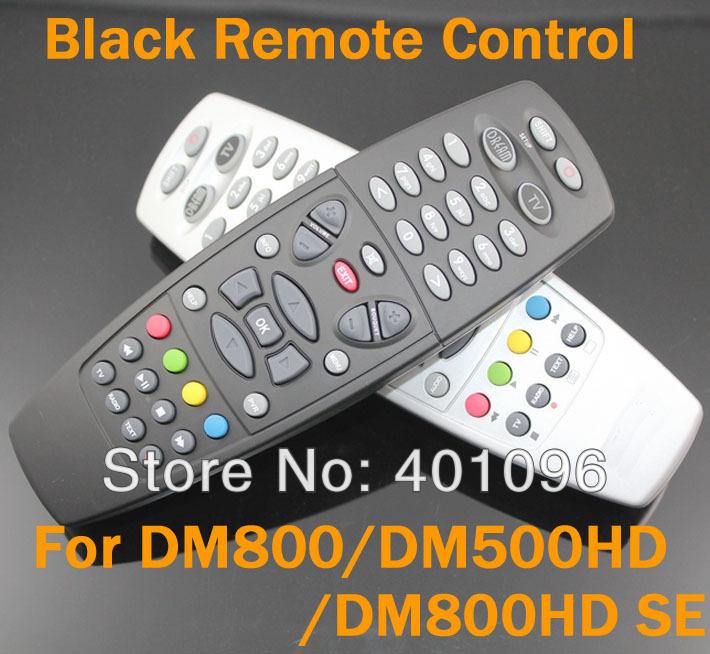 Gratis Verzending Zwart Kleur Dm800 Afstandsbediening Voor Dreambox