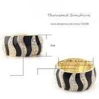From India Crossfit Fashion Quality Elastic Bracelet&bangles For Women Wide Glaze Bracelet Wholesale Lot Jewelry Free Shipping