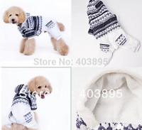 Excellent Polar Fleece Warm Dog Outfits Winter Windproof Dog Coats Hoodie Pet Jumper Promotion Sale