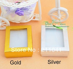 Wholesale Jewelry Gif Box 15 pcs/lot Silver Color(China (Mainland))