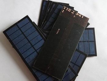 HOT Sale ! Polycrystalline Solar Cell 2Watt 18V Solar Panel Solar Module Laminate  Solar Cells For DIY &Ttest Free Shipping