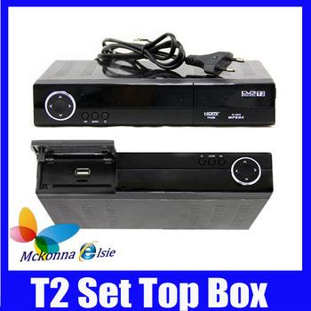 2Pcs/lot Hot! HD Support HDMI DVB-T2 MPEG-2 MPEG-4 H.264 Digital Terrestrial Receiver /Set Top Box/TV Receiver DVB T2 Tuner