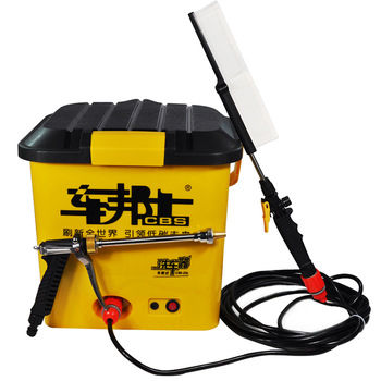 Electric car wash device car portable high pressure car washing machine car wash water gun 12v25l
