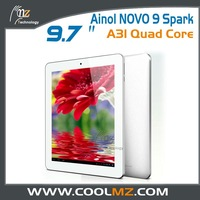 "Hot Ainol NOVO9 Spark FireWire tablet pc 9.7"" Retina Screen A31 Quad Core 2GB RAM 16GB Camera HDMI OTG"