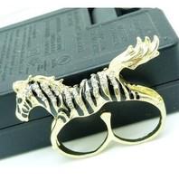 mixture order fashion popular horse design open ring