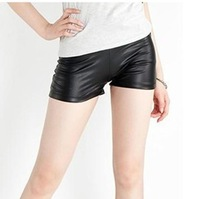 2014 New Fashion Stretch Women Shorts/Brand Summer Faux Leather Shorts For Women/Casual Women Clothing