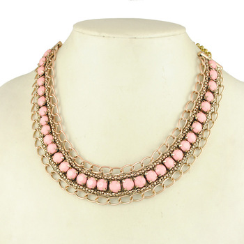 Statement Necklace 2014 New Vintage Jewelry Necklace for Women (Mix minimum order is USD10)