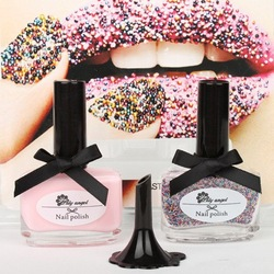 "Brand New"" CATE Ciate Caviar Nail Polish Exclusive Manicure Rainbow Color + Limited Edition HB978R Free Shipping(China (Mainland))"