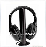 Sale free shipping Wireless Earphone Headphone 5 in 1 for MP3&PC&TV