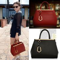 New EU Retro bag newest design fashion lady handbag women Zipper bags Portable female shoulder bags free shipping BBG0191