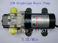 1pc new 12VDC DC12V 25W Diaphragm Water Pump 3.2L/Min Automatic Switch 1205 3.2 L/Min ,freeshipping