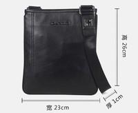 2013 Free shipping Leather messenger bag men new arrived M90070