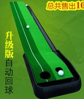 2014 Indoor Golf Practice Swing Trainer with Automatic Ball Return putting green Golf putting golf putting trainer