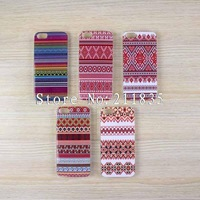 100PCS/LOT(5 style) Aztec Tribal hard case back cover for iPhone 5 5th 5G+DHL free shipping
