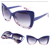 2014 Newest Fashion normic sunglasses brand design womens personalized vintage cat eye sunglasses anti uva female free shipping