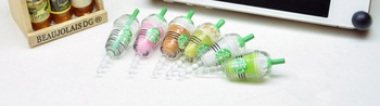 6 colors with package earphone jack Starbucks cup drink model Anti dust plug Stopper for iPhone 4 4s iphone 5 iPad 2 3 new iPad