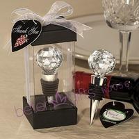 Free Shipping 100box Crystal Ball Wine Stoppers Tableware, Dinnerware & Dinnerware Sets WJ056
