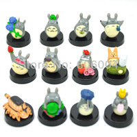 Free Shipping EMS 20/Lot 12pcs My Neighbor Totoro mini figure #2 New Wholesale